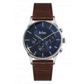 Мъжкии часовник Lee Cooper Classic Dual Time - LC06491.392