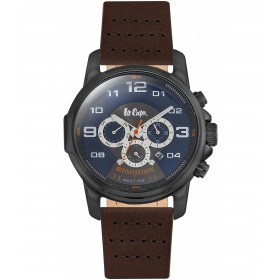 Мъжкии часовник Lee Cooper Classic Dual Time - LC06525.692