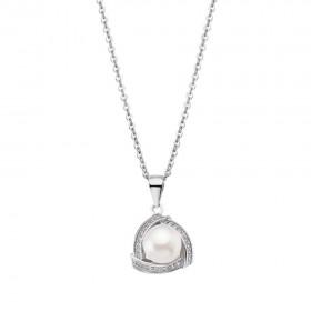 Дамско колие LOTUS SILVER Pearls - LP1928-1/1