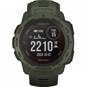 GPS мултиспорт часовник Garmin INSTINCT SOLAR Tactical Moss - 010-02293-04