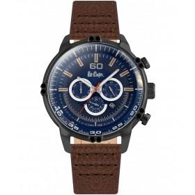 Мъжкии часовник Lee Cooper Classic Dual Time - LC06506.692