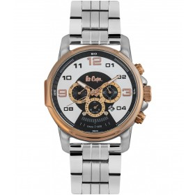 Мъжкии часовник Lee Cooper Classic Dual Time - LC06526.550