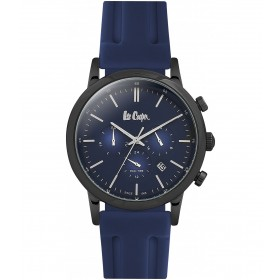 Мъжкии часовник Lee Cooper Classic Dual Time - LC06545.099