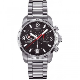 CERTINA DS Podium Big Size GMT Chronograph - C001.639.11.057.00