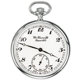 Джобен часовник Tissot - T82.6.402.12 Lepine Mechanical