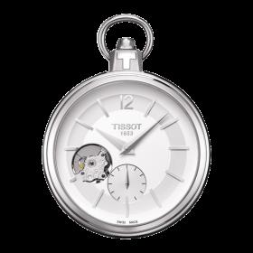 Джобен часовник Tissot - T854.405.19.037.01 Pocket 1920 Mechanical