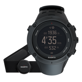 Мъжки часовник SUUNTO AMBIT3 PEAK Black HR - SS020674000