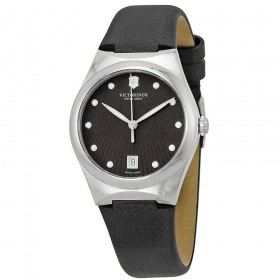 Victorinox Swiss Army Victoria Anthracite Dial Black Nylon - 241632