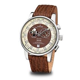 Мъжки часовник Kronsegler Triton - KS759 Brown