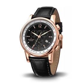 Мъжки часовник Kronsegler Poseidon Admiral - KS728 Black