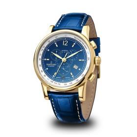 Мъжки часовник Kronsegler Poseidon Admiral - KS728 Blue