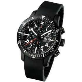 Мъжки часовник Fortis B-42 Black - 638.28.71 K