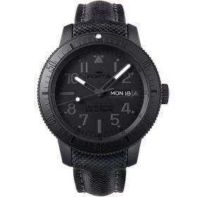 Мъжки часовник Fortis Pitch Black - 647.28.81 LP