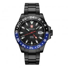 Мъжки часовник CX SWISS Military - 2776 GMT Nero