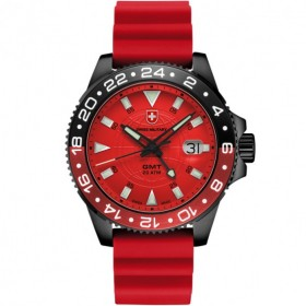 Мъжки часовник CX SWISS Military GMT Nero Scuba - 27781