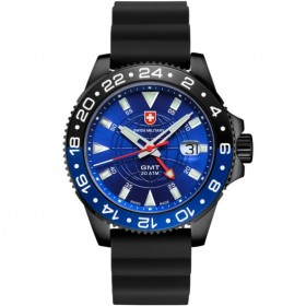 Мъжки часовник CX SWISS Military GMT Nero Scuba - 27771