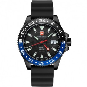 Мъжки часовник CX SWISS Military Nero Scuba - 27761 GMT