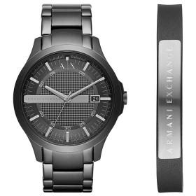 Мъжки часовник Armani Exchange Hampton Gift Set - AX7101