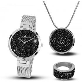 Дамски часовник Jacques Lemans - 1-2035G SET