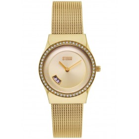 Дамски часовник STORM CYRO CRYSTAL GOLD - 47385GD
