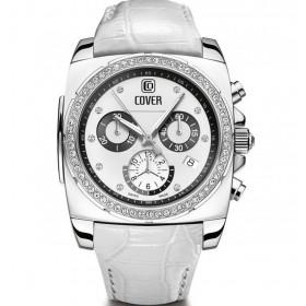 Дамски часовник Cover Expressions Grandezza Lady Chronograph - Co176.02