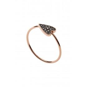 Дамски пръстен Fossil VINTAGE GLITZ - JF03091791 170