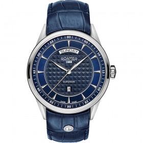 Мъжки часовник Roamer Superior Day Date - 508293 41 45 05