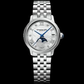 Дамски часовник Raymond Weil Maestro Automatic Diamond - 2139-ST-00965