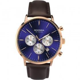 Мъжки часовник Sekonda Classic Dual-Time Chronograph - S-1658.00