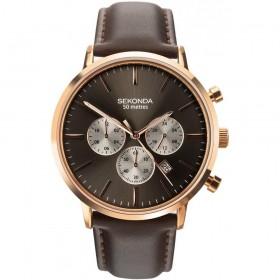 Мъжки часовник Sekonda Classic Dual-Time Chronograph - S-1659.00