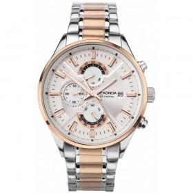 Мъжки часовник Sekonda Classic Dual Time - S-1698.00