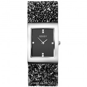 Дамски часовник Seksy Rocks Swarovski Crystals - S-2573.37