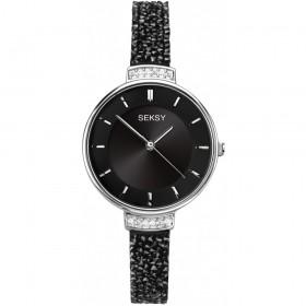 Дамски часовник Seksy Rocks Swarovski Crystals - S-2578.37