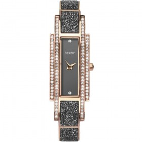 Дамски часовник Sekonda Seksy Rocks Rose Gold Swarovski - S-2585.37