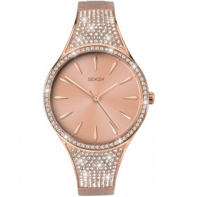 Дамски часовник Seksy Rocks Swarovski Crystals - S-2669.37