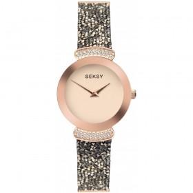 Дамски часовник Seksy Rocks Swarovski Crystals - S-2716.37
