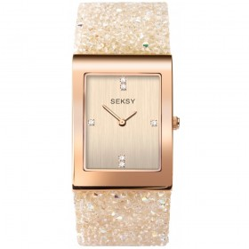 Дамски часовник Seksy Rocks Swarovski Crystals - S-2722.37