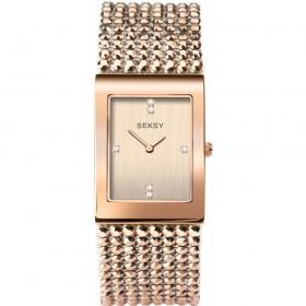 Дамски часовник Seksy Rocks Swarovski Crystals - S-2724.37
