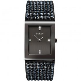 Дамски часовник Seksy Rocks Swarovski Crystals - S-2725.37