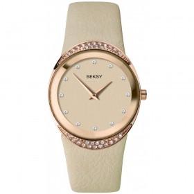 Дамски часовник Seksy Rocks Swarovski Crystals - S-2729.37