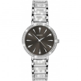 Дамски часовник Seksy Rocks Swarovski Crystals - S-2731.37