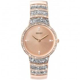 Дамски часовник Seksy Rocks Swarovski Crystals - S-2745.37