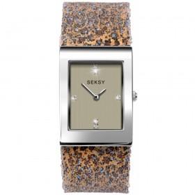 Дамски часовник Seksy Leopard Print Swarovski Crystals - S-2851.37