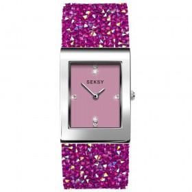 Дамски часовник Seksy Rocks Swarovski Crystals - S-2856.37