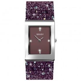 Дамски часовник Seksy Rocks Swarovski Crystals - S-2857.37