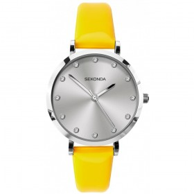 Дамски часовник Sekonda Editions Neon Yellow - S-40010.00