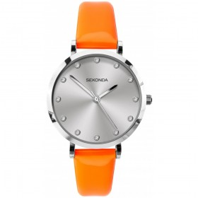 Дамски часовник Sekonda Editions Neon Orange - S-40011.00