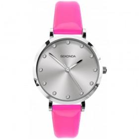 Дамски часовник Sekonda Editions Neon Pink - S-40012.00
