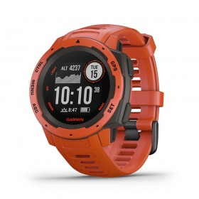 GPS мултиспорт часовник Garmin Instinct™ Flame Red - 010-02064-02