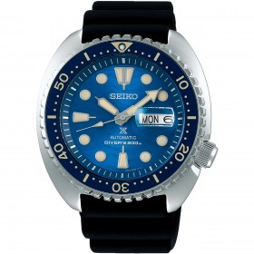 "Мъжки часовник Seiko PROSPEX ""King Turtle"" - ""Save The Ocean"" Great White Shark Edition - SRPE07K1"